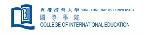 Hong Kong Baptist University – College of International Education